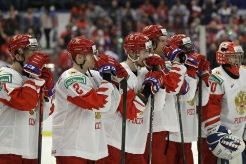 TV mixup has Russian fans celebrating despite losing