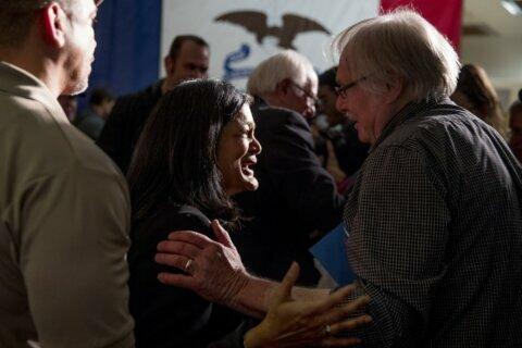 The Latest: Prominent New Hampshire Democrat endorses Warren