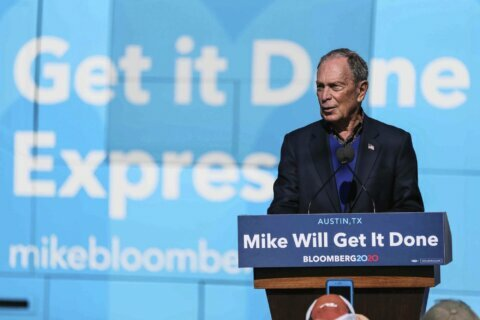 Michael Bloomberg says he'd 'work with Congress' on DC statehood