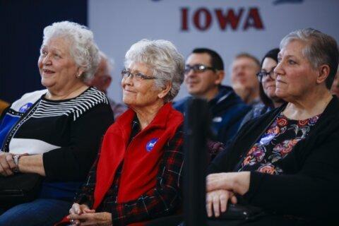 Iowans adjust to 'weird' final days of caucus campaign