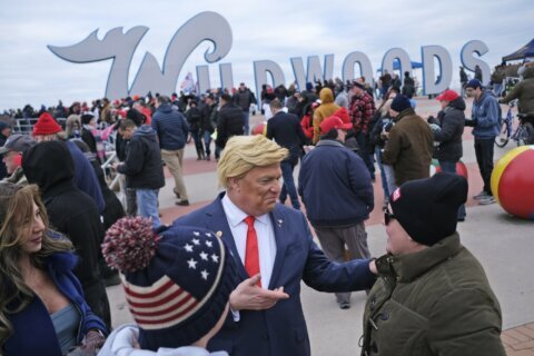 Trump rally rouses New Jersey shore town to life