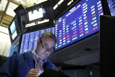 Asian shares mostly higher after rebound on Wall Street