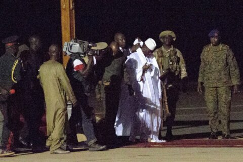 Gambia's ex-dictator Jammeh reportedly wants to come home
