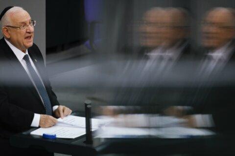 Israeli president: Germany must win anti-Semitism fight