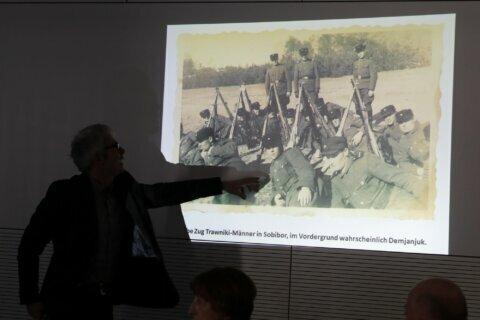 Historians: Sobibor death camp photos may feature Demjanjuk