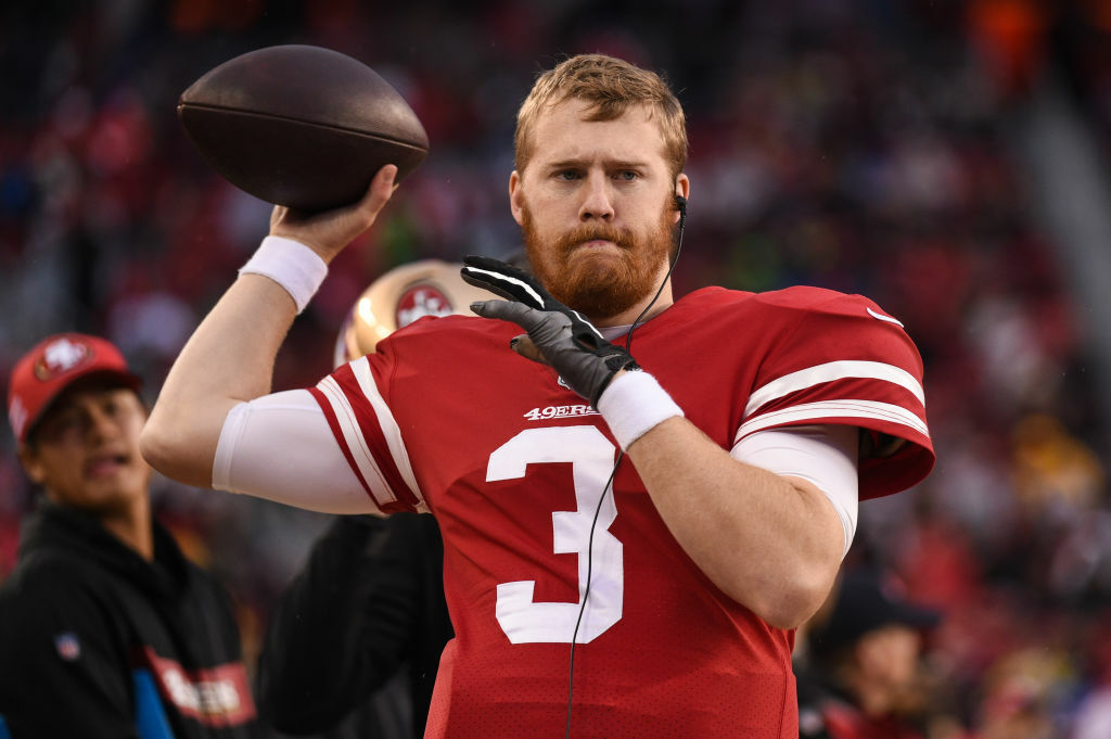 "<p>Though he didn&#8217;t play or live in the D.C. area, 49ers backup quarterback C.J. Beathard is the grandson of Redskins Hall of Fame general manager Bobby Beathard and would love to end <a href=""https://www.espn.com/nfl/story/_/id/28563003/one-son-killed-another-super-bowl-how-beathard-family-remember-clay"" target=""_blank"" rel=""noopener"">a season of tragedy</a> on a high note.</p>"