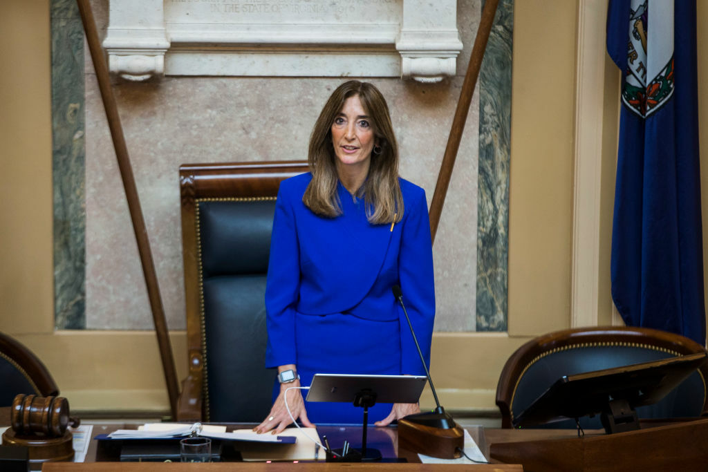 Women take charge of Virginia House as historic assembly session