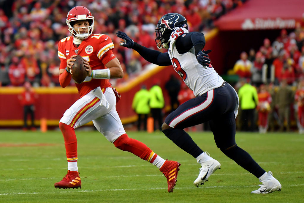 """<p><b><i>Texans 31</i></b><br /> <b><i>Chiefs 51</i></b></p> <p>If you thought wild card weekend lived up to its name, how wild was this divisional round game in Kansas City? Patrick Mahomes&#8217; <a href=""""https://twitter.com/ESPNStatsInfo/status/1216478238555410433?s=20"""" target=""""_blank"""" rel=""""noopener"""">Doug Williams impersonation</a> helped the Chiefs become the first team in NFL history to win a game by 20 points after trailing by 20 in a game, which also happened to match the fourth-largest comeback in NFL postseason history. KC&#8217;s masterpiece has them on the brink of their first Super Bowl berth in 50 years — but have to go through a Tennessee squad making a habit of taking down teams of destiny.</p> <p>And Houston has a problem. Deshaun Watson&#8217;s <a href=""""https://profootballtalk.nbcsports.com/2020/01/07/texans-used-to-deshuan-watsons-houdini-again-routine/"""" target=""""_blank"""" rel=""""noopener"""">Houdini acts</a> are great, but <a href=""""https://www.espn.com/nfl/story/_/id/28472806/deshaun-watson-stands-coach-bill-obrien-texans-collapse"""" target=""""_blank"""" rel=""""noopener"""">he&#8217;s wrong about his coach</a>. The Texans have generational talents in Watson, DeAndre Hopkins and J.J. Watt but only seem to win big games when Watson does something miraculous. There are better options than Bill O&#8217;Brien to lead Houston to the next level and the organization should be on the hunt for those options sooner rather than later.</p>"""