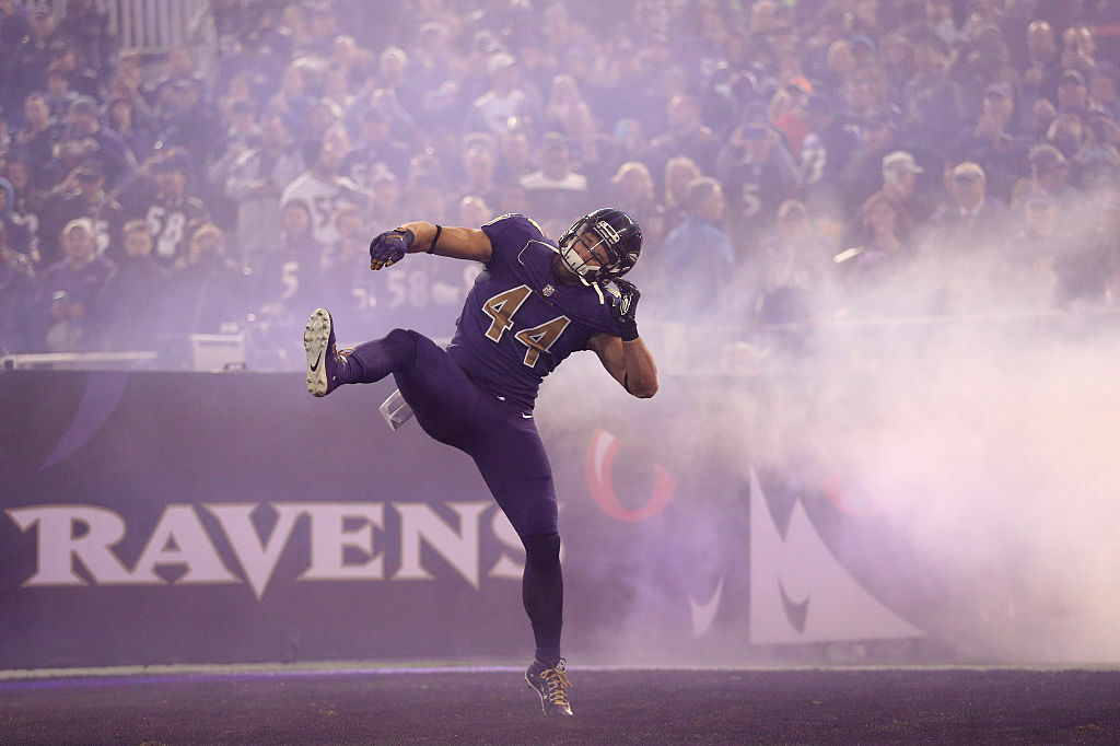<p>49ers fullback Kyle Juszczyk was selected by the Ravens in the fourth round of the 2013 draft and played his first four seasons in Baltimore. Though tough to pronounce, Juszczyk (YOUs-check) has made a name for himself as a utility player, making four straight Pro Bowls.</p>