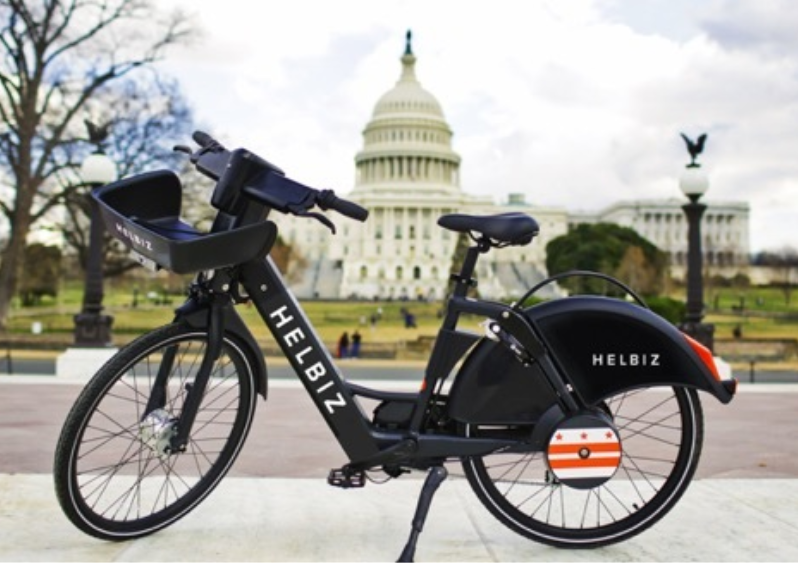 Helbiz e-bikes hit DC streets | WTOP