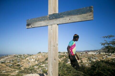 UN chief urges Haitians to resist escalation at quake event