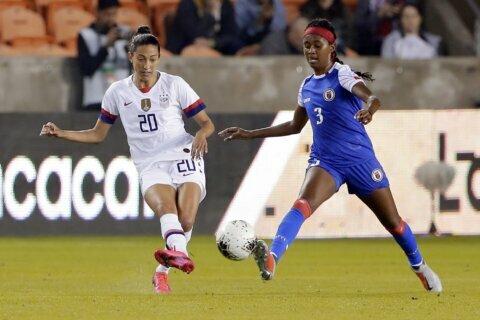 US women defeat Haiti 4-0 to open Olympic qualifying