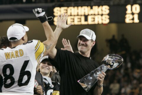 Former Steelers coach Cowher elected to Pro Football HOF