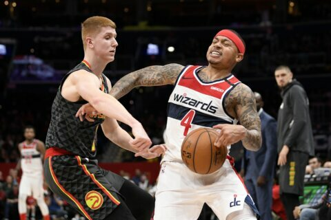 Wizards shut down Young, beat Hawks 111-101