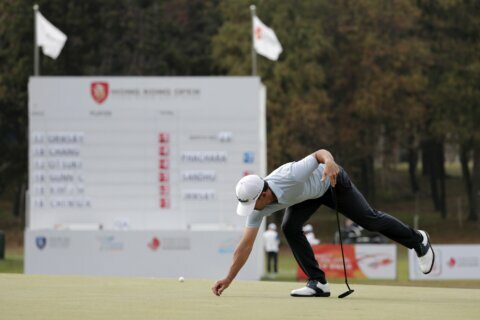 Ormsby continues to lead at Hong Kong Open