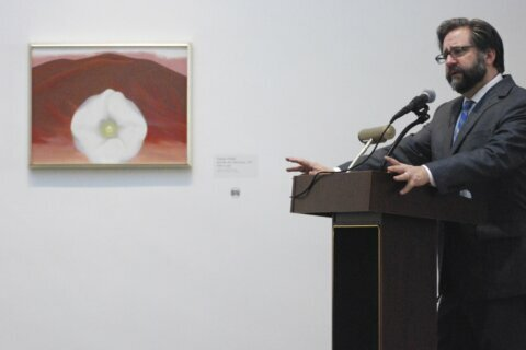 Georgia O'Keeffe Museum is backdrop to US humanities grants