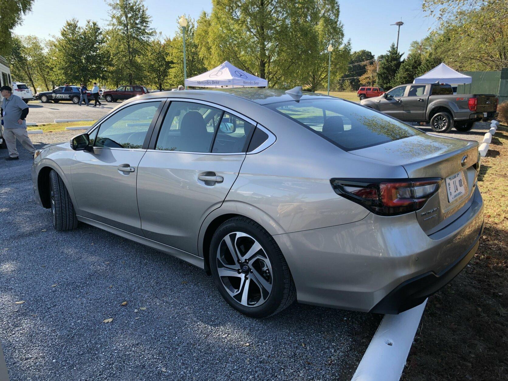 2020 Subaru Legacy rear view