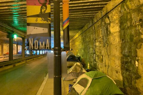 Controversy over DC's plans to clear out homeless encampment in Northeast underpass