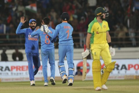 India level ODI series after beating Australia by 36 runs