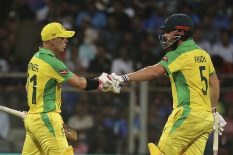 Australia hammers India by 10 wickets in 1st ODI