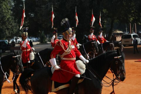 India celebrates Republic Day with military parade
