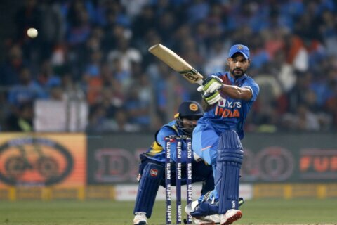 India crushes Sri Lanka by 78 runs to win T20 series 2-0