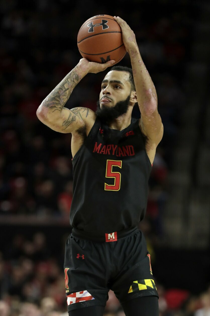 Smith scores 19 to lead No. 15 Maryland past Indiana 75-59 ...