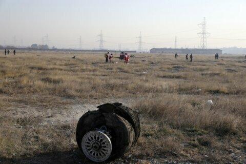 Ukrainian jet crash kills 176, sets off mourning in Canada