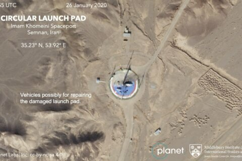 Iran, photos suggest a US-criticized satellite launch looms
