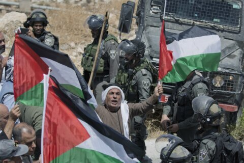 Palestinians face mounting barriers to peaceful protest
