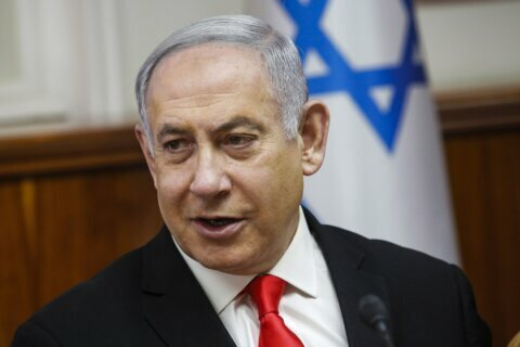 Israel's Netanyahu apologizes for mocking rival's 'stutter'