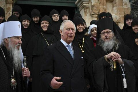 Prince Charles visits Jerusalem tomb of unique ancestor