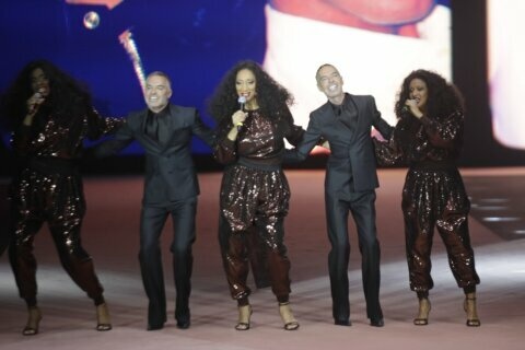 DSquared2 fetes Milan Fashion's 25 years with Sister Sledge