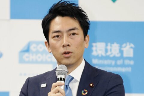 It's a boy for 1st Japan Cabinet member on paternity leave
