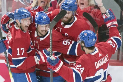 Tatar scores in shootout, Canadiens beat Golden Knights 5-4