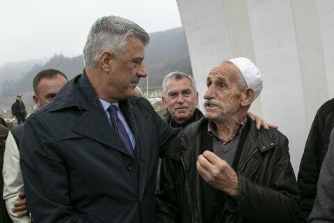 Kosovo president hurt by 'amnesty' on Serbia crimes in war