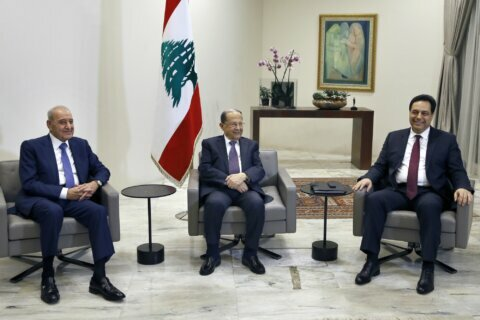 New government in crisis-hit Lebanon ends 3-month vacuum