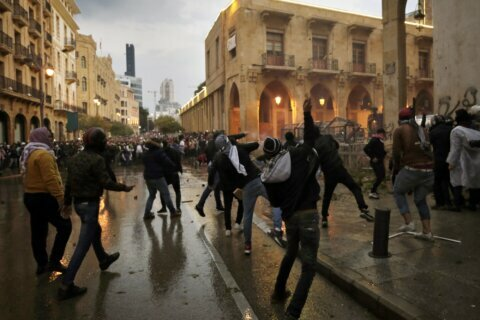 Riots in Lebanon's capital leave more than 150 injured
