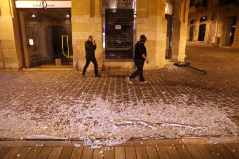New Lebanese minister says he won't permit attacks on police