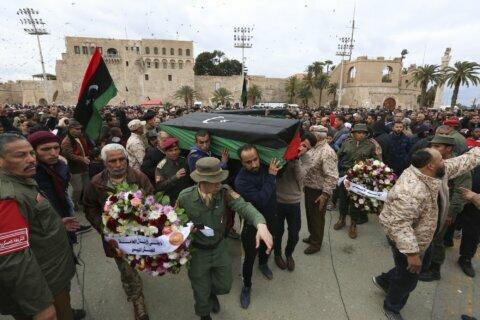 EU officials push for bloc to enforce Libya arms embargo