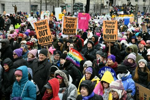 Thousands take to streets for 4th Women's March