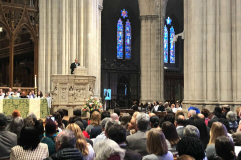 Martin Luther King III honors father's legacy at the National Cathedral