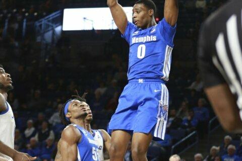Horne helps lead Tulsa to big upset of No. 20 Memphis