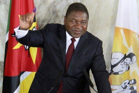 Mozambique's Nyusi begins 2nd term amid violent challenges