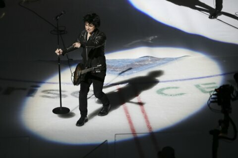 Green Day drops several f-bombs during NHL All-Star Game