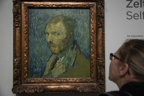 Experts say Vincent van Gogh self-portrait is genuine