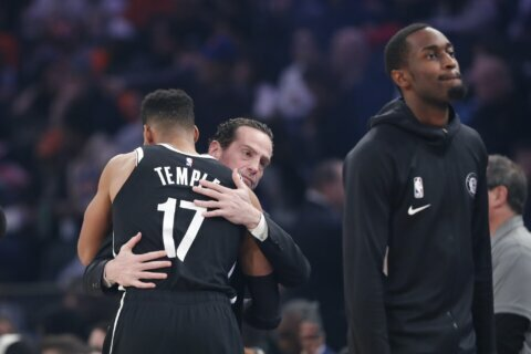Knicks beat Nets as Irving misses game after Kobe's death