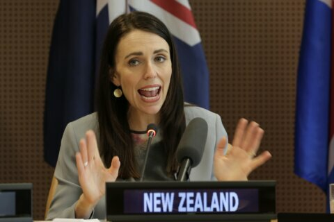 New Zealand's Ardern seeking reelection in Sept. 19 vote