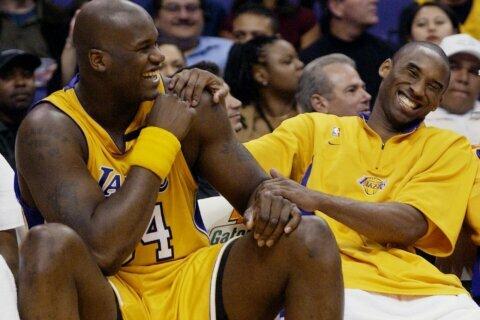 Shaq says of Kobe's death: 'I wish I could say something to him again'