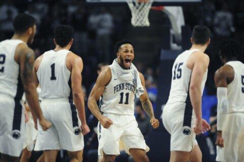 Penn State tops No. 20 Ohio State 90-76